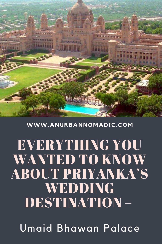 priyanka's wedding palace