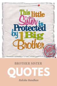 Brother quotes for Rakhi