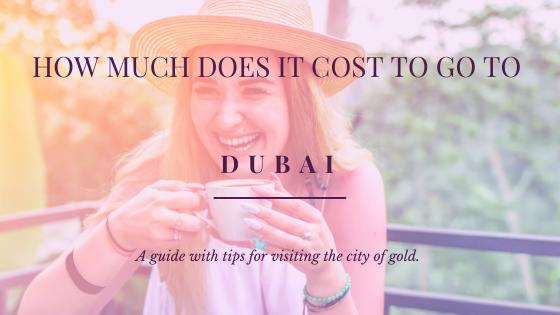 Dubai Travel Cost