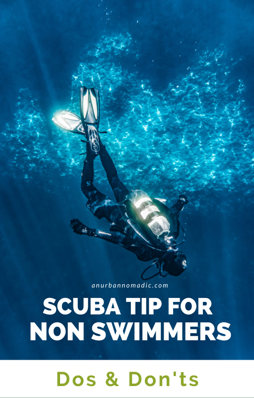 Scuba diving tips for non swimmers - Dos and donts